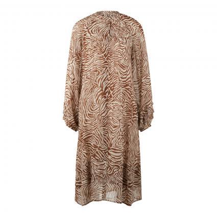 Kleid 'Elma' mit All-Over Muster schwarz (00171 MOUNTAIN ZEBRA) | S