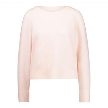 Pullover aus Alpaka-Mix pink (00527 CRYSTAL PINK M) | XL