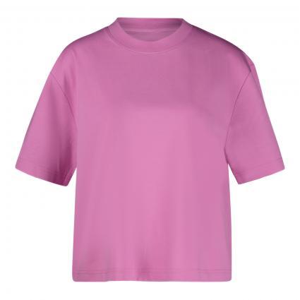 T-Shirt 'Chrome' mit Rundhalsausschnitt  pink (10432 BUBBLE GUM PIN) | L