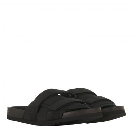 Sandalen mit Klettverschluss schwarz (00001 BLACK) | 44