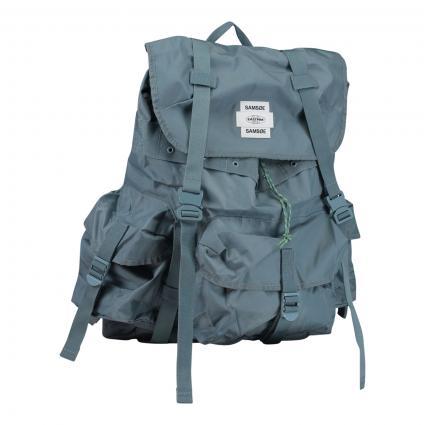 Rucksack mit Seitentaschen blau (10460 BLUE MIRAGE)   0