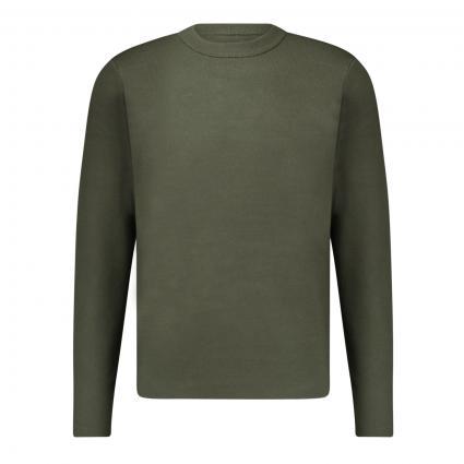 Pullover 'Gunan' oliv (10396 DEEP DEPTHS) | XL