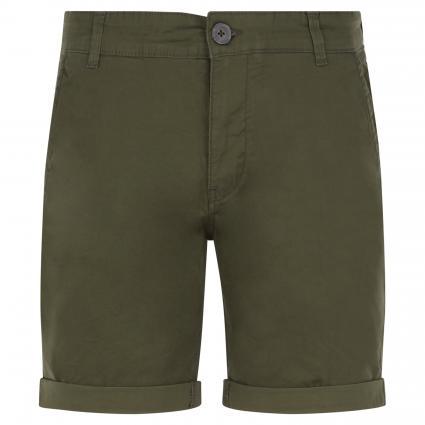 Shorts im Chino-Stil oliv (222651 Deep Depths) | S