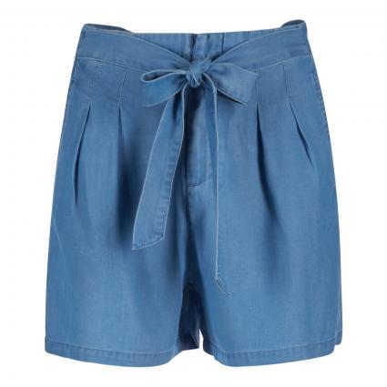 Shorts 'Mia' mit Bundfalten blau (178000 Light Blue De) | L