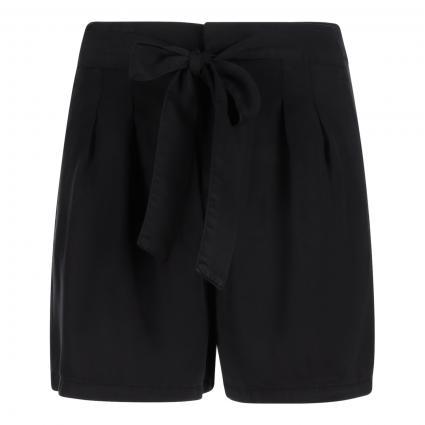 Shorts 'Mia' mit Bundfalten schwarz (177868 Black)   M