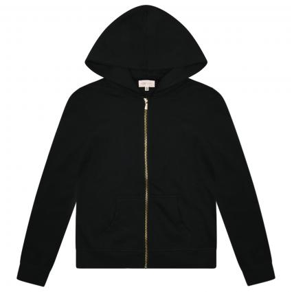 Sweatshirt-Jacke schwarz (177911 Black) | 128