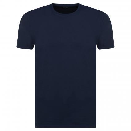 Basic-Shirt 'Pima' mit Rundhals marine (178814 Navy Blazer) | XXL
