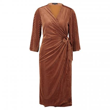 Kleid 'Mirage' in Wickel-Optik orange (185979 Caramel Café) | L