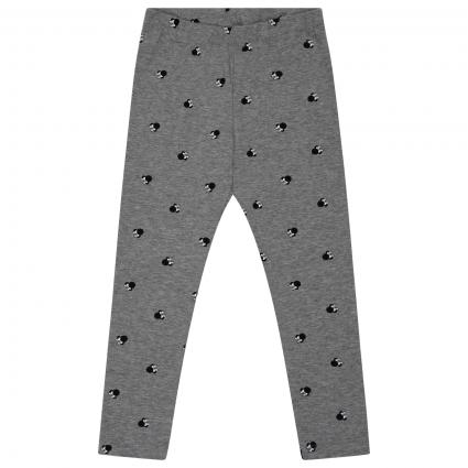 Leggings mit All-Over Muster   grau (179334 Grey Melange) | 98