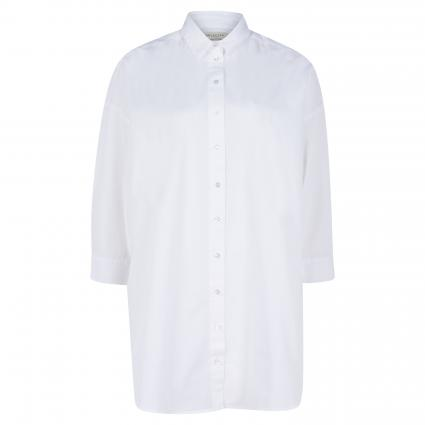 Oversized Longbluse 'Ami' weiss (179651 Bright White) | 38