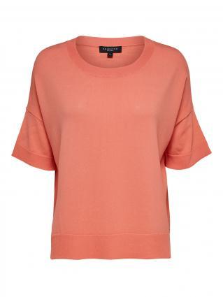 T-Shirt 'Wille' mit verlängertem Rücken rose (251415 Burnt Coral) | L