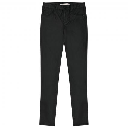 Jeans Hose in Lederimitatoptik schwarz (177911 Black) | 140