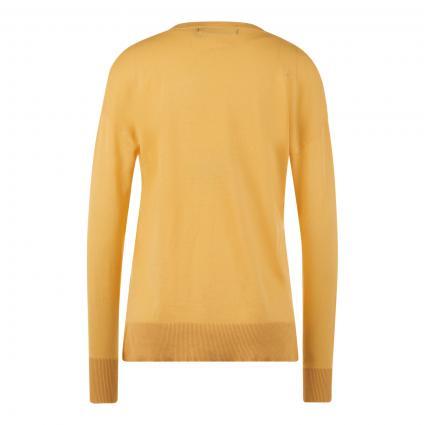 Pullover 'Jennifer' mit V-Ausschnitt gelb (245416 Cornsilk)   XS