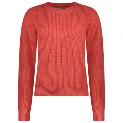 Strickpullover 'Leanna' mit Rundhals pink (184219 Spiced Coral) | M