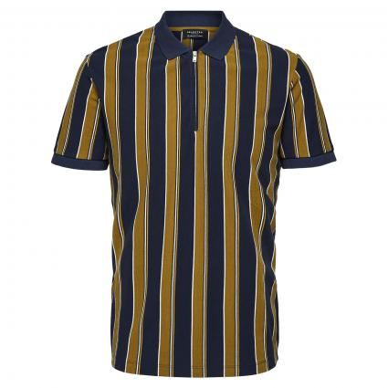 Poloshirt 'Regemon' mit Zipper marine (186839002 Sky Captai)   S