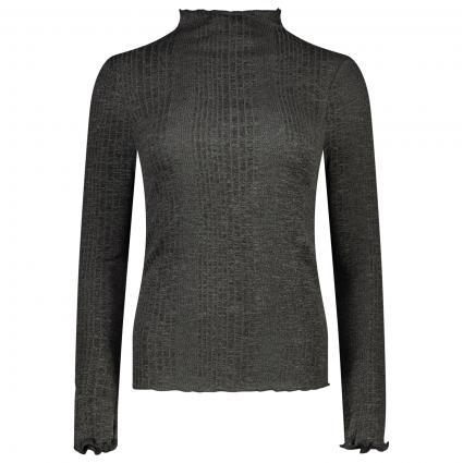 Langarm Shirt  anthrazit (180591 Dark Grey Mel) | XL