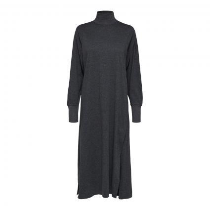 Midi-Jerseykleid mit Ballonärmel grau (180234 Grey Melange)   XS