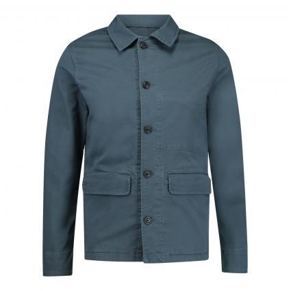 Fieldjacket aus BIO-Baumwolle  blau (196801 Orion Blue) | L