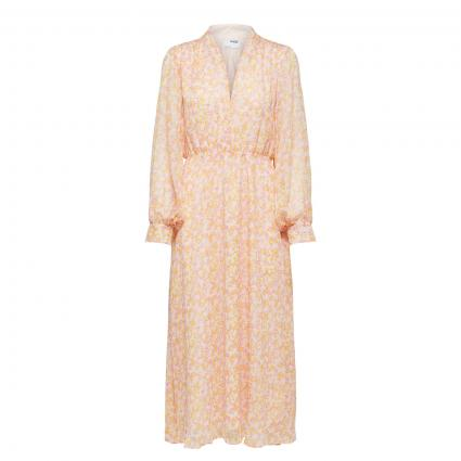 Kleid mit All-Over Muster  rose (264175001 Opera Mauv) | 36