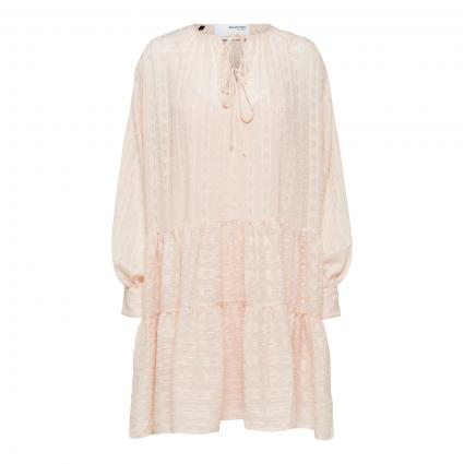 Kleid 'Muni' mit All-Over Muster rose (201491 Peach Whip) | 40