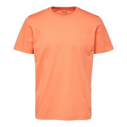Unifarbenes T-Shirt 'Norman' rose (265875 Coral Quartz) | XL