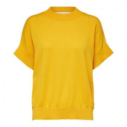Kurzarm-Pullover 'Maja' gelb (189998 Citrus) | XS