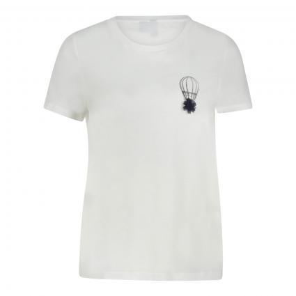 T-Shirt 'VMDONNAFRANCIS) mit Druck  weiss (175598002 Snow White)   L