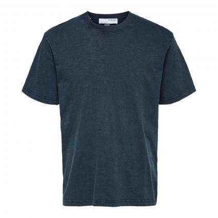 Relaxed-Fit T-Shirt 'Herb' marine (186839 Sky Captain) | XL