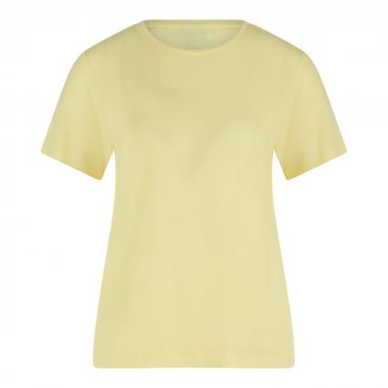 Unifarbenes T-Shirt gelb (214870 Lemonade)   XL