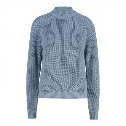 Pullover mit Strukturmuster blau (225415 Blue Fog) | XL