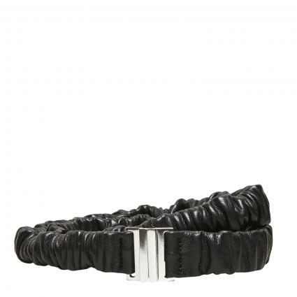 Elastischer Ledergürtel 'Kelly' schwarz (179099 Black)   85