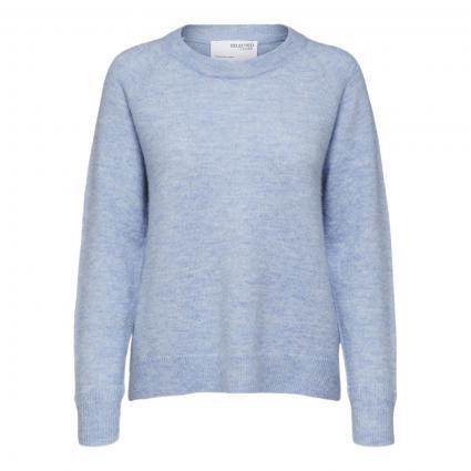 Pullover 'Lulu' mit Rundhalsausschnitt blau (212870001 Brunnera B) | M