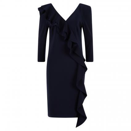 Kleid mit Volantdetails marine (2166 MARINE)   40