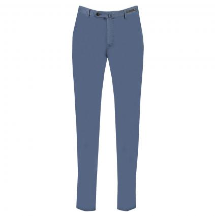 Chino Hose in Slim-Fit  blau (340) | 54