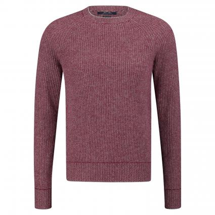 Cashmere-Pullover mit Allover-Muster rot (FX43390-FX71137 red) | XL