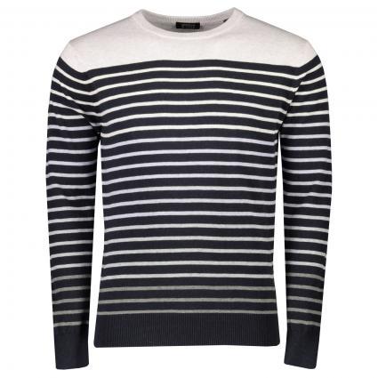 Pull à rayures  gris (0218 Combo B stripe) | L