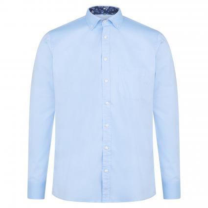 Hemd aus reiner Baumwolle blau (3954/10 Blue Oxford) | XL
