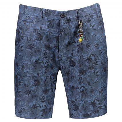 Shorts mit All-Over Muster marine (669 Navy) | 31