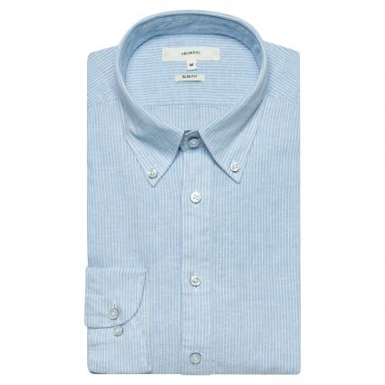 Slim-Fit Hemd mit Button-Down Kragen  blau (LBL blau) | L