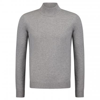 Strickpullover aus Wolle-Mischung grau (Grigio) | L