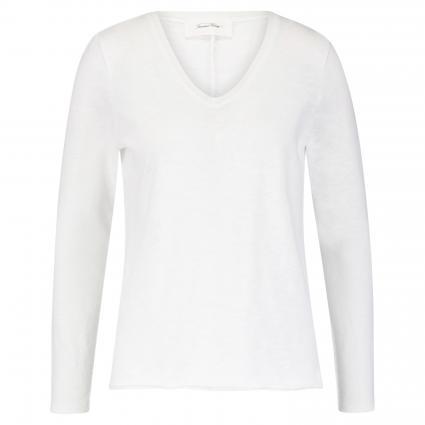 Langarmshirt 'Sonoma' im Vintage-Style weiss (BLANC) | S
