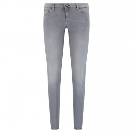 Slim-Fit Jeans im 5-Pocket Style grau (light grey) | 31