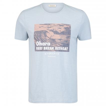 Printshirt 'Victor' blau (Skyway) | XXL