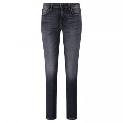 Slim-Fit Jeans im 5-Pocket Style schwarz (schwarz) | 27