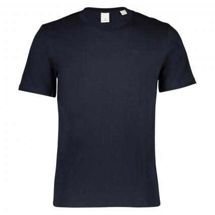T-Shirt mit Rundhalsausschnitt marine (57 navy) | M