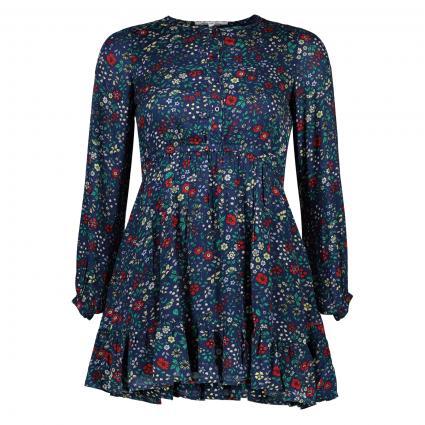 Kleid 'Eva' mit Blumenmuster rot (0AA MULTI)   164