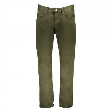 Regular-Slim Jeans 'Ralston' oliv (0J military green) | 30 | 34
