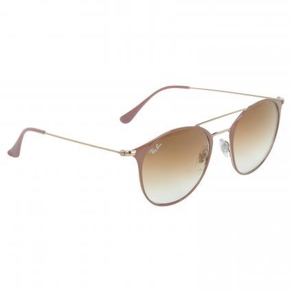 Sonnenbrille mit runden Gläsern braun (907151) | 0
