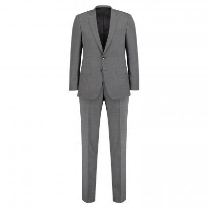 Slim-Fit Anzug 'Huge 6/Genius 5'  schwarz (001 Black)   54