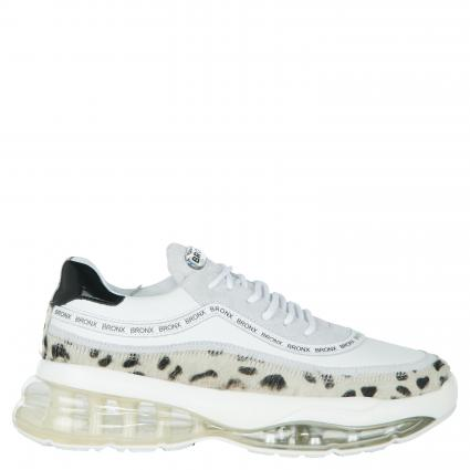 Sneaker 'Bubbly' aus Material-Mix weiss (DALMATION/WHI) | 39